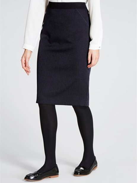 Essential Tailored Fit Pencil Skirt