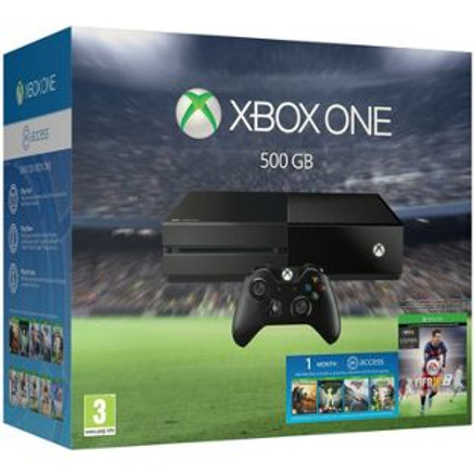 Xbox One 500GB Console and FIFA 16 Bundle