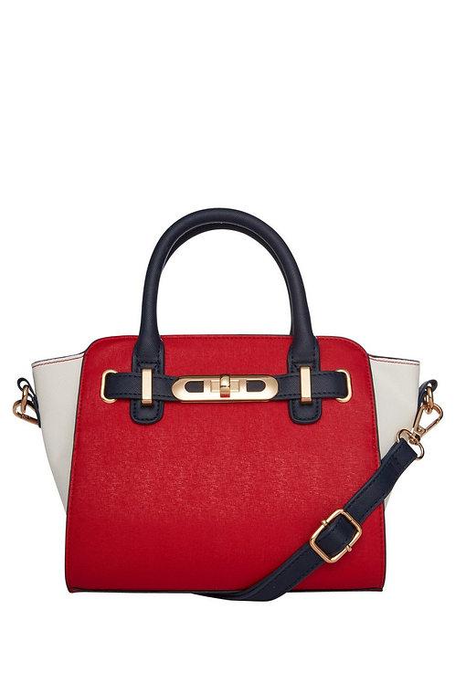 Mini Colour Block Winged Tote Bag