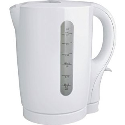 Simple Value Cordless Kettle - White