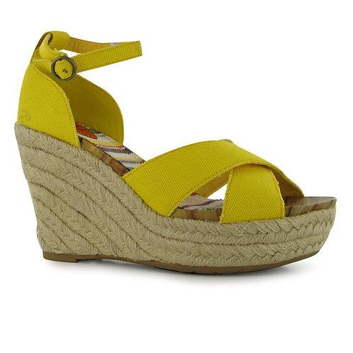 Yellow Rocket Dog Clara Ladies Wedge Shoes