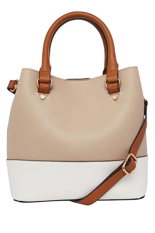Colour Block Bucket Bag
