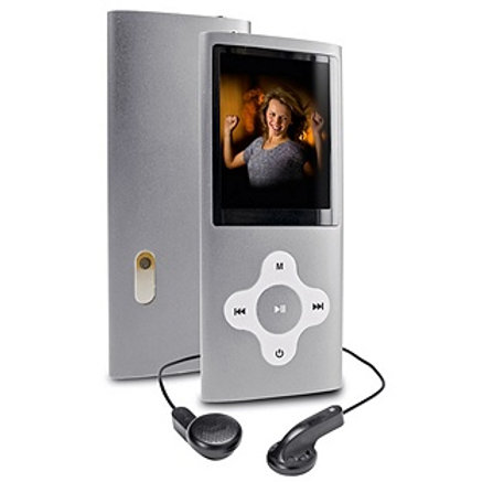 BUSH 8GB MP3 WITH CAMERA CAMCORDER SILVER