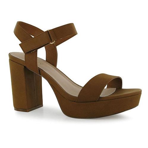 Miso Boho Block Heel Ladies Shoes