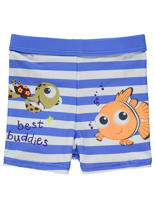 George - Disney Finding Nemo Swim Trunks (6-12 mth