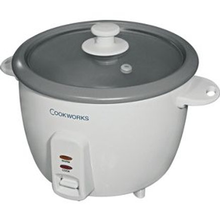 Cookworks 1.5L Rice Cooker - White