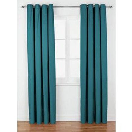 ColourMatch Lima Eyelet Curtains - 117x137cm -