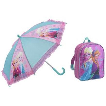 Disney Frozen Backpack and Umbrella