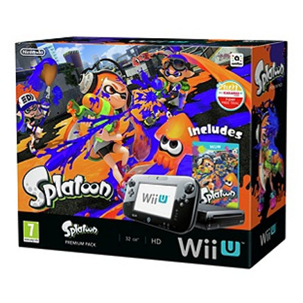 Wii U Console and Splatoon Bundle