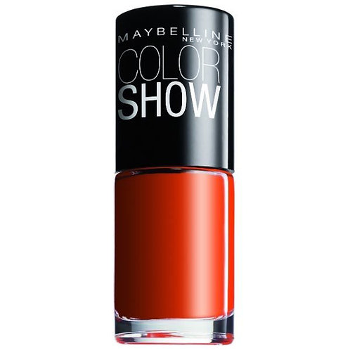 Maybelline Color Show Nail Polish Wow Orange