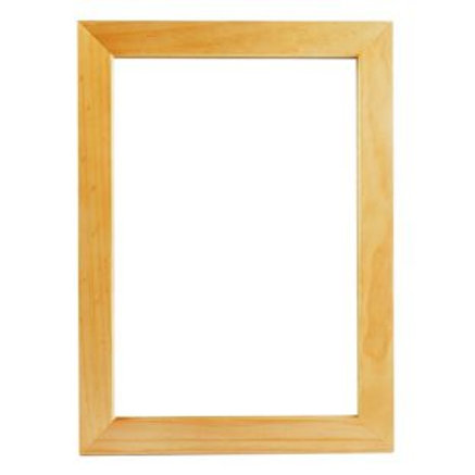 Oak Effect Bathroom Mirror