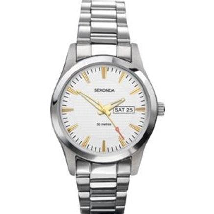 Sekonda Men's Stainless Steel Bracelet Watch