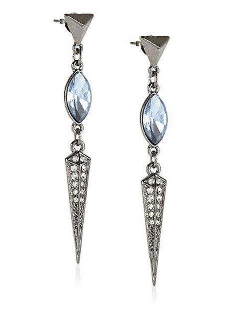 M&S COLLECTION Diamanté Sparkle Drop Earrings