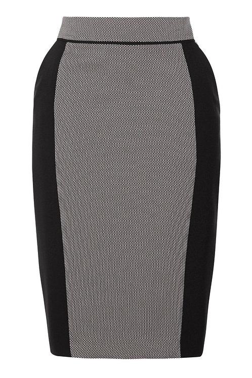 F&F Dot Pattern Pencil Skirt