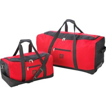 Go Explore 2 Piece Medium Wheeled Holdall Set