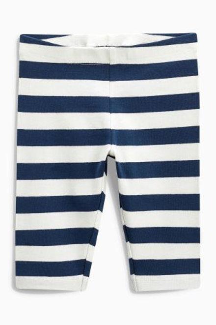Navy/White Leggings by NEXT