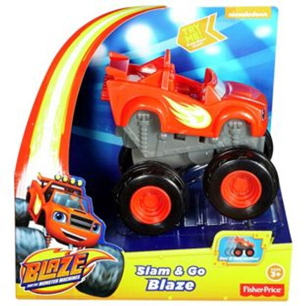 Fisher-Price Blaze Slam and Go Assortment