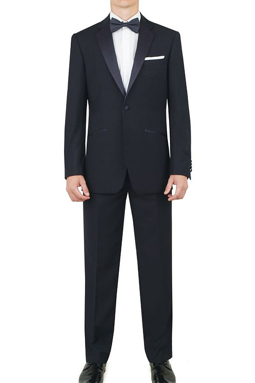Alexander Dobell Navy Blue Tuxedo with Notch Lapel