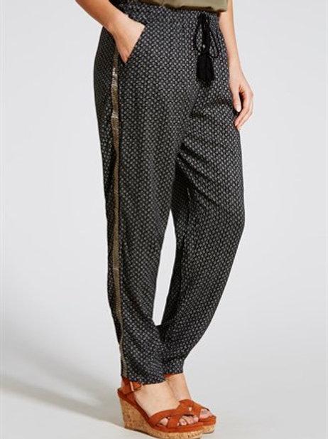 Interest Side Trim Trousers