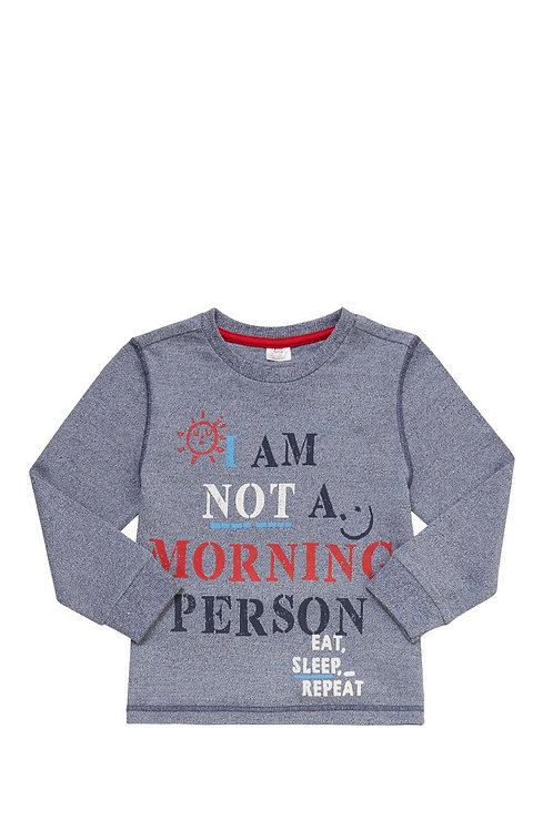 F&F Morning Person Long Sleeve T-Shirt
