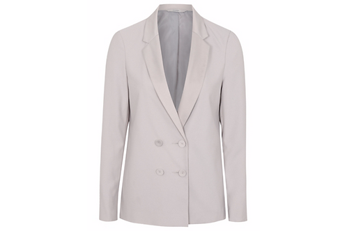 Double Buttoned Blazer from George - Light Grey