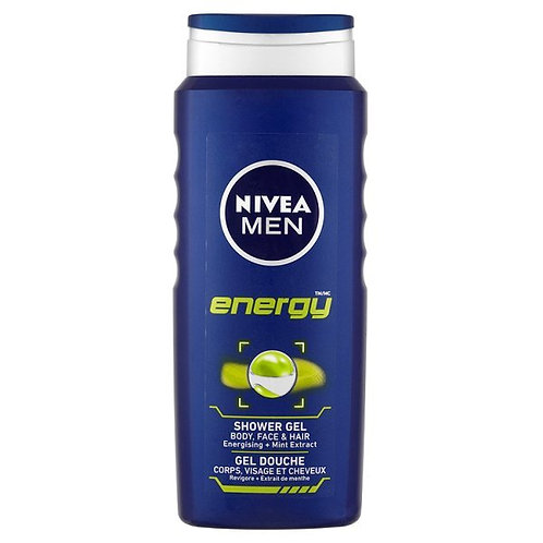 Nivea For Men Shower Energy 500ml
