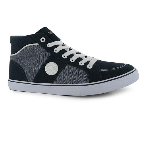 SoulCal Sol Mid Mens Trainers - Navy