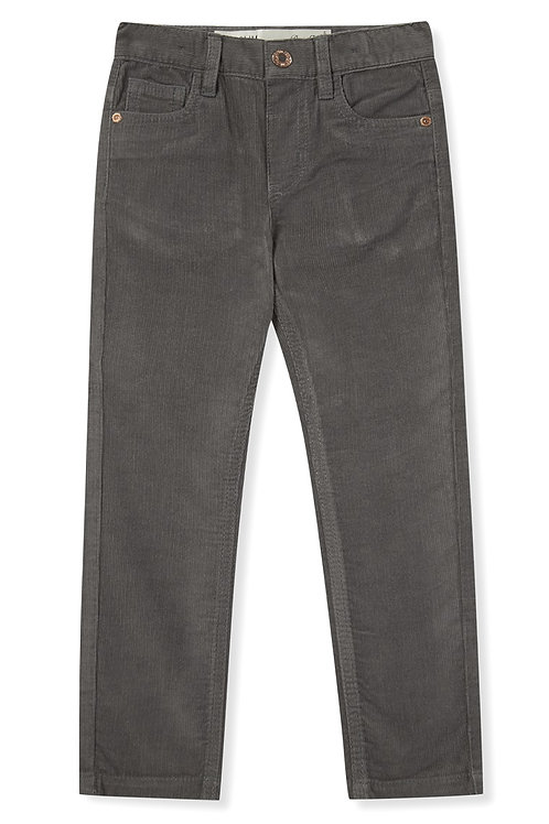 Rebel - Grey Cord Trousers Older Boys
