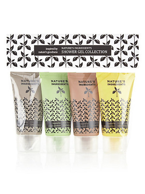 NATURE'S INGREDIENTS Shower Gel Collection
