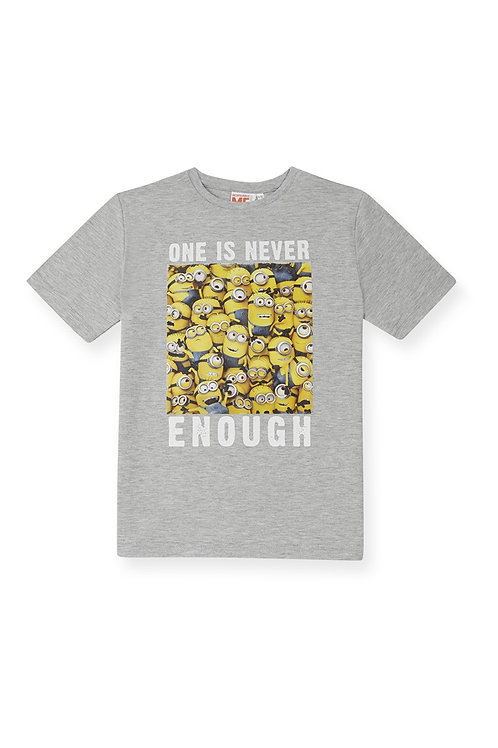 Rebel - Grey Minions Printed Tee shirt