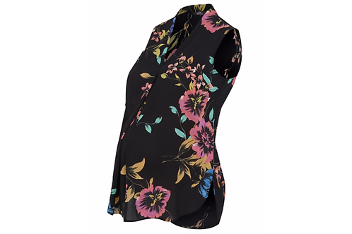 Maternity Floral Print Blouse by George