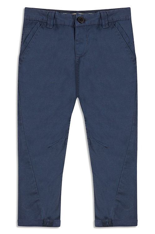 Younger Boy Chambray Chino Trouser