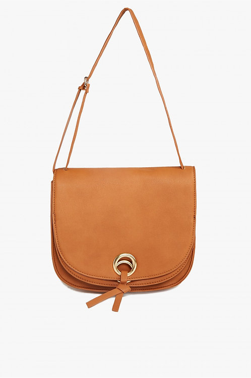 EYELET SADDLE BAG