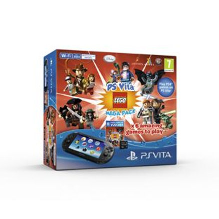 PS Vita Slim Console and LEGO® games Mega Bundle