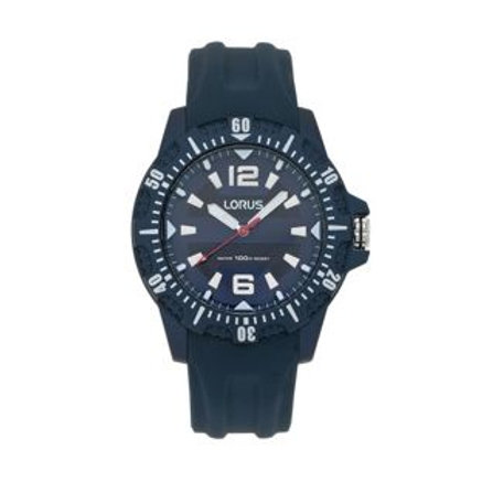 Lorus Men's Silicone Strap Sports Watch