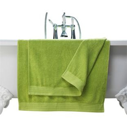 ColourMatch Pair of Bath Towels - Apple Green