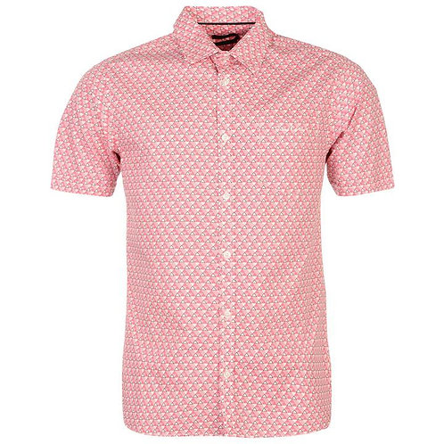 Pierre Cardin Short Sleeve Geo Shirt Men's