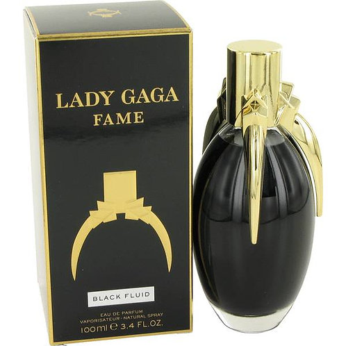 Lady Gaga Fame Black Fluid Eau De Parfum for Women
