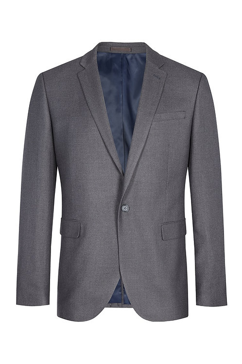 Charcoal Grey Regular Fit Men's Suit