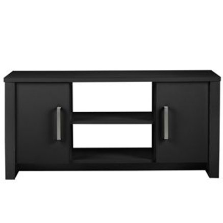 Bailey 2 Door Low Sideboard/TV Unit - Black