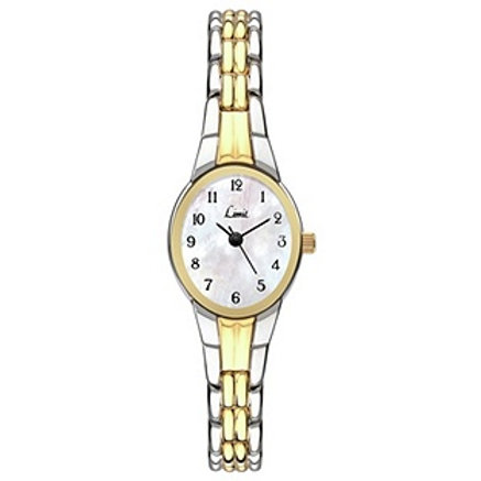 Limit Ladies' Two Tone Mother of Pearl Dial Bracelet Watch.