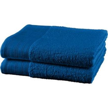 ColourMatch Pair of Bath Towels - Marina Blue