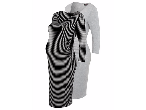 2 Pack Assorted Maternity Dresses by George
