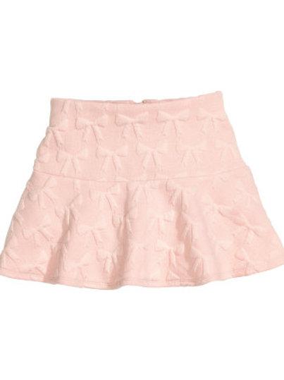 H&M - Powder Pink Patterned skirt