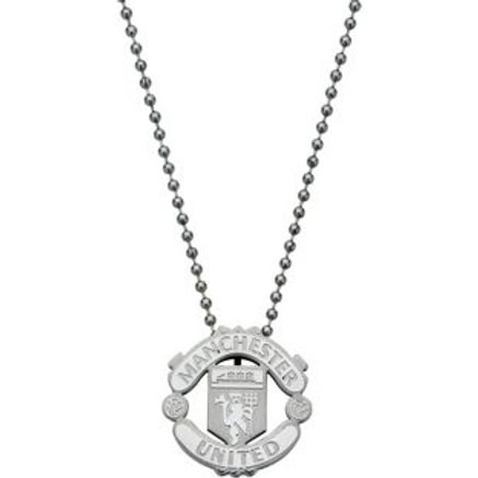 Manchester United Stainless Steel Crest Pendant