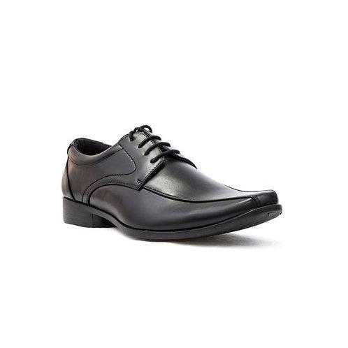 Mens Black Beckett Tramline Lace Up Formal Shoe