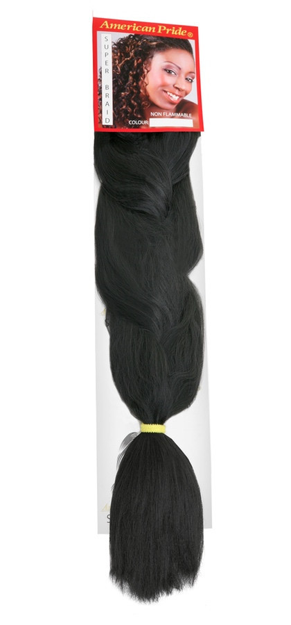 American Pride Super Jumbo Braid Hair Extensions