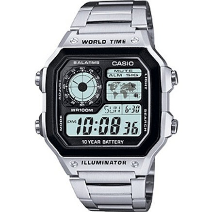 Casio Men's World Time Illuminator Watch
