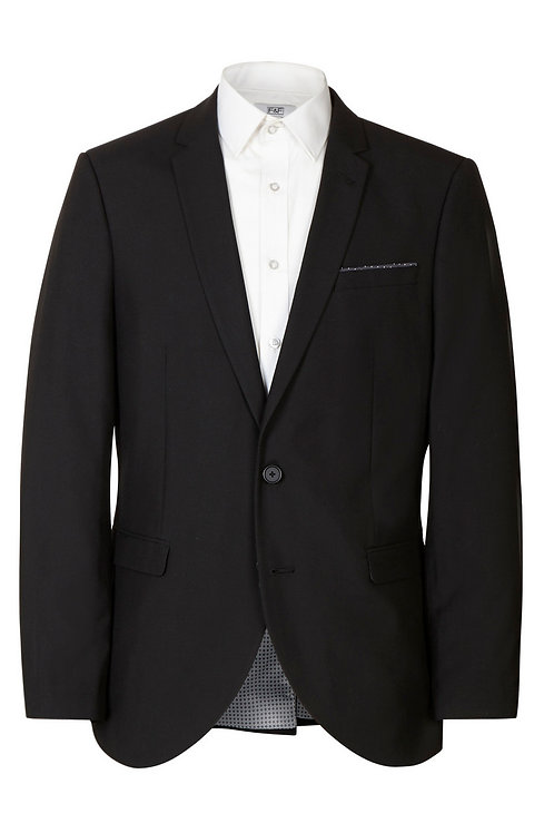 F&F Black Slim Fit Suit