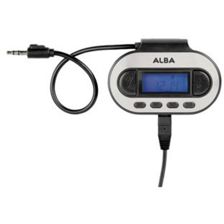 Alba FM Transmitter - play your own music in car